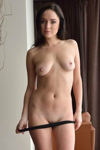 Outstanding Nika A is waiting for her lover to take her on the bed