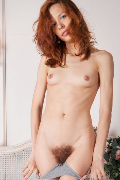 If you love skinny chicks with hairy vag than Dennie is just what you need