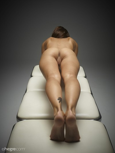 Karina in Pussy Plank from Hegre Art