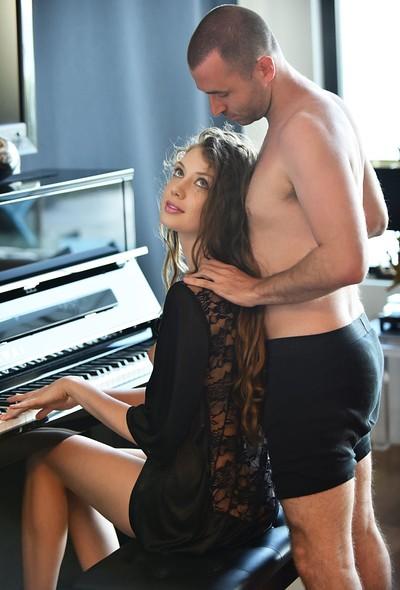Elena Koshka in Piano Concierto from X-Art