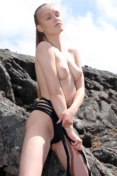 Angel B in Naked Angel In Lava Field from Watch 4 Beauty
