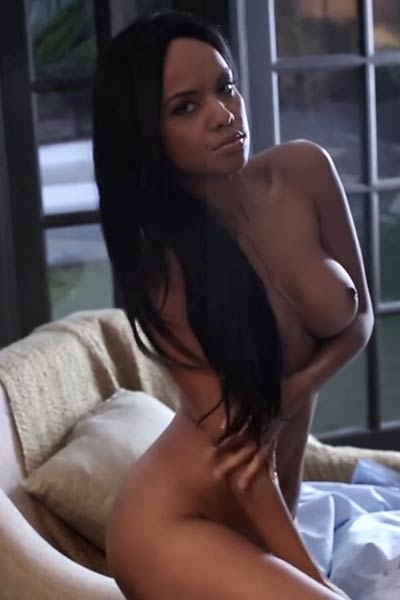 This lovely Ebony is ready to be pleasured until she cums