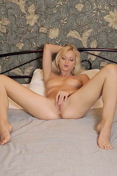 Amazing hottie Nika N shows of her stunning body great ass and nice pussy in Blonde Bombshell