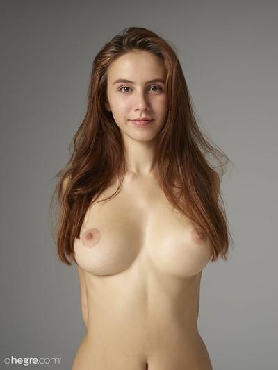 Alisa in Studio Nudes from Hegre Art