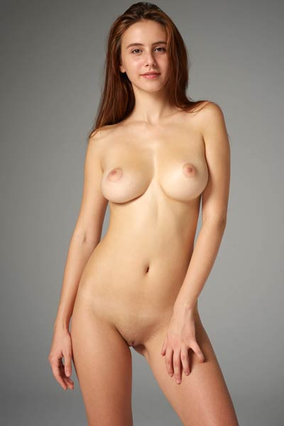 Take a look at the lovely Alisa and her outstanding pair of tits
