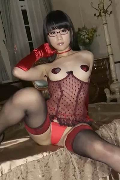 Amazing vixen Eri Kitami gets naked and shows her mind-blowing sex appeal in Delusion Maid Scene 4