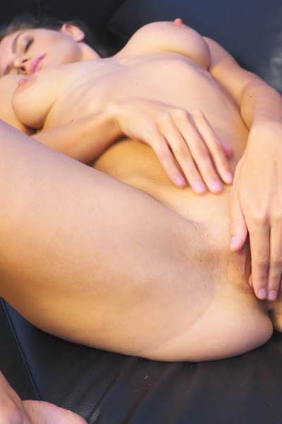Gorgeous damsel Lana Stotch sensually poses in Open Up