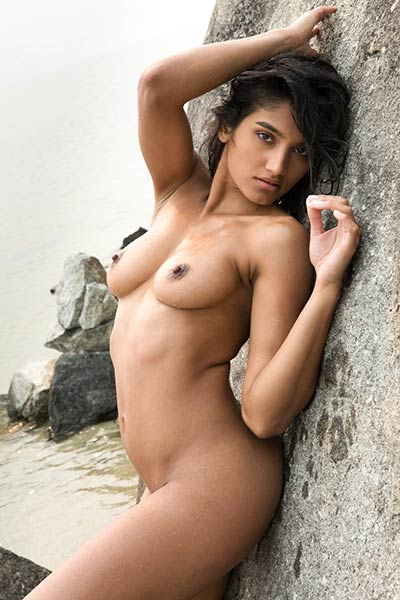 Angel Constance has such a sweet and sexy body which she displays for an outdoor photo shoot