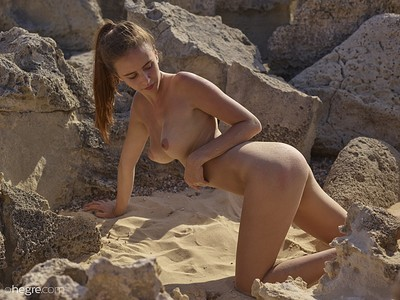 Alisa in Ibiza Makes You Horny from Hegre Art