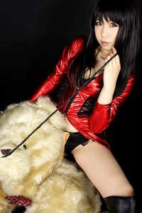 Adorable and playful Girl Higurashi Rin enchanting in All Strapped Up