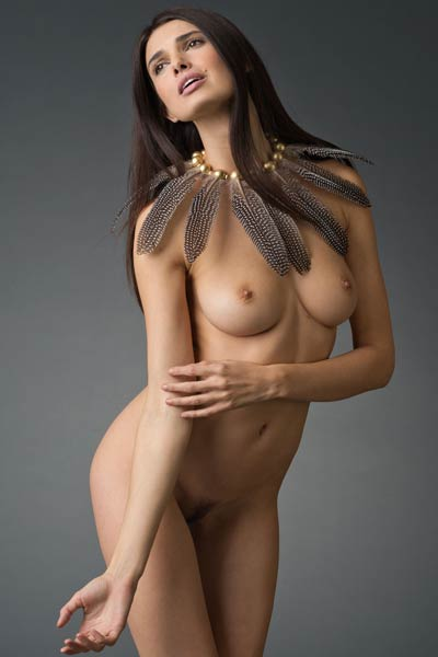 Her amazing natural assets will make any man get wild and naughty
