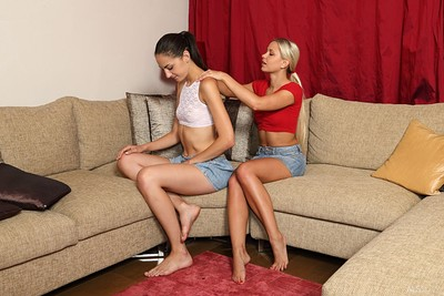 Lola and Niky Love in Sensual Foreplay from Als Scan