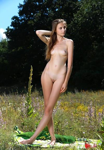 Elle in A Field of Flowers 2 from MPL Studios