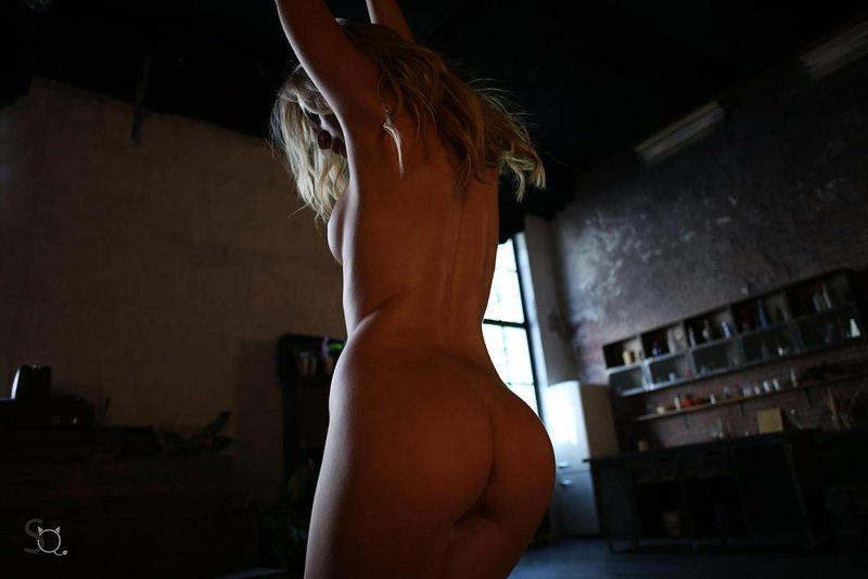 Pretty Sexy Blonde Teen With Amazing Body Posing Naked On Stasyq 1