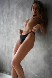 Perfect brunette has nice body and sweet face and she is every guy dream