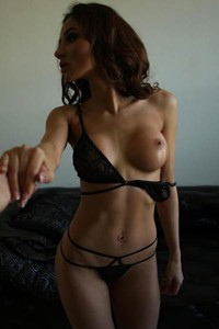 KittyQ is one perfect brunette with gorgeous tits and pure face