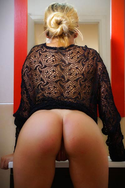 Horny blonde Candice is one naughty girl and her passion is undressing and posing naked
