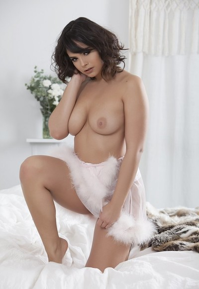 Violet Starr in January 2018 CyberCutie from Penthouse