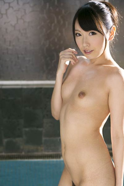 Adorable and playful Allgravure Model Chika Arimura nude in Open To Serve You
