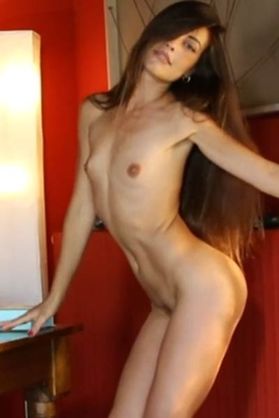 Spend a day with amazingly pretty and sexy brunette hottie Lorena B