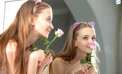 Alisabelle in Rose Petal from Showy Beauty