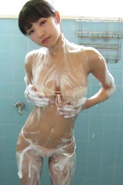 All natural Allgravure Girl Rina Nagai posing in Twilight Diary Scene 3