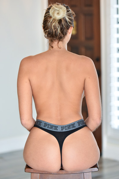 Athena big butt goes wild when she takes of that tight underwear