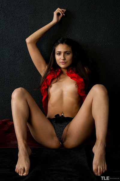 Cira Nerri in Red Hot from The Life Erotic