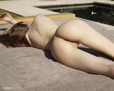 Aya Beshen in Summer Time from Hegre Art