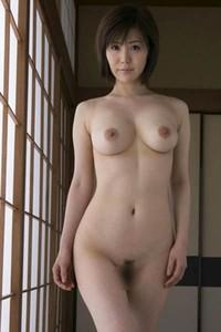 Perfectly Shaped All Gravure Model Nanako Mori posing in River Love