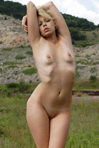 Vlada B simply adores to get out and spend her free time in nude