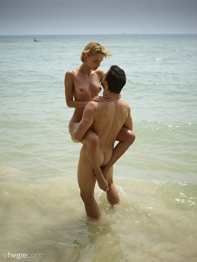 Ariel in Sex On The Beach from Hegre Art