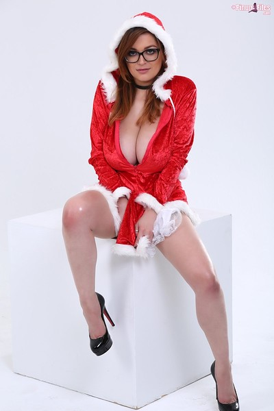 Tessa Fowler in Santa Babe Set 1 from Pinup Files