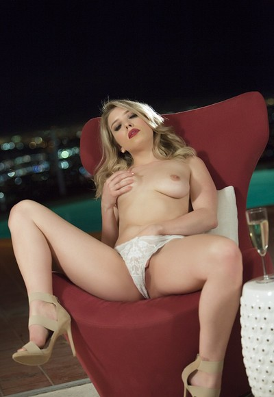 Giselle Palmer in Offbeat Recklessness from Penthouse