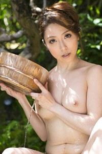 Bloomed Babe Yuuko Shiraki naked in Body Cleansing