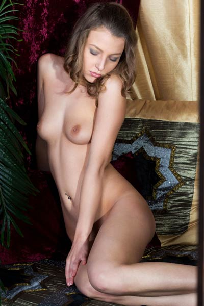 This tempting brunette doll knows just what you need and want