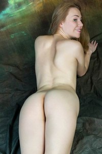 Top class blonde Stephanie teasing naked in many different poses