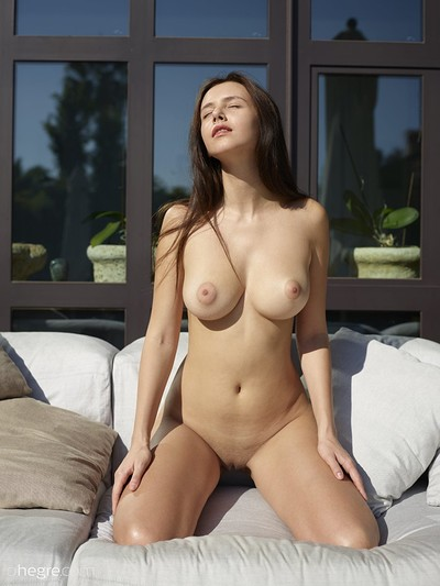 Alisa in Naked At Home from Hegre Art
