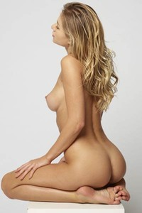 Blonde goddess Darina L will stun you with her mind blowing body and perfect boobs