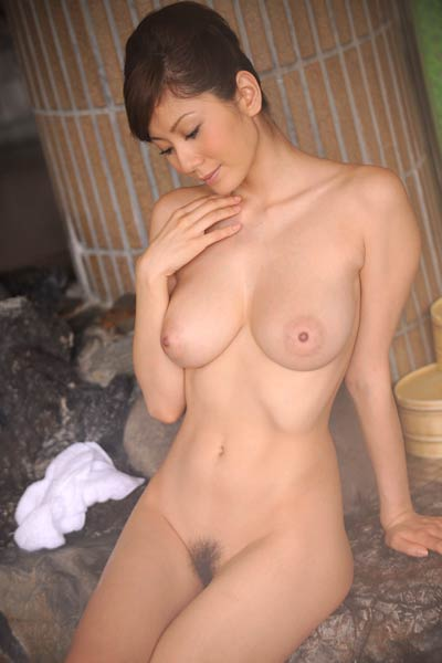 Fantastic All Gravure Beauty Yuma Asami gets nude and nasty in Bath House