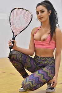 So sexy Natalie gives us nice presentation on her slender body