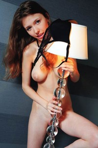 Mila Azul busty and pretty brunette fingers her tasty pussy at home