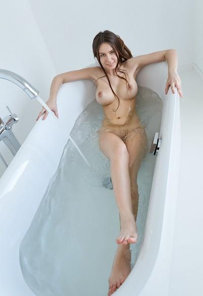 Alisa I in Lets Take A Bath from Femjoy