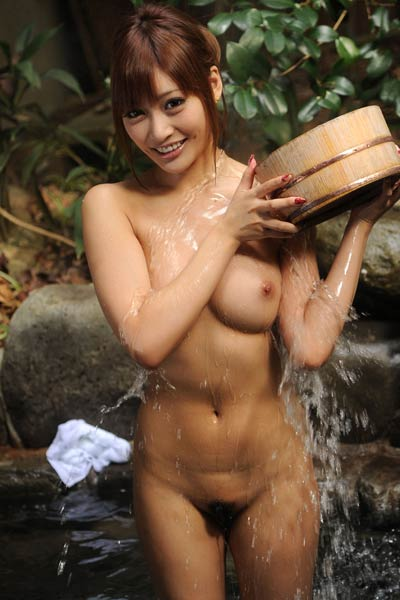 All natural Allgravure Beauty Kirara Asuka nude in Soapy Clean