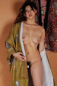 Adventurous and daring babe All Gravure Beauty Hara Saori delightfully poses in What It Takes