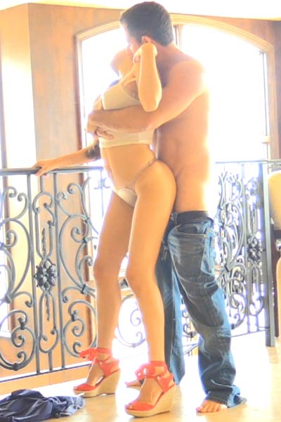 NinaX and her lover have some really nice sex time together