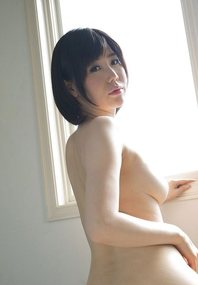 Nanako Mori in Perfect Suckle from All Gravure