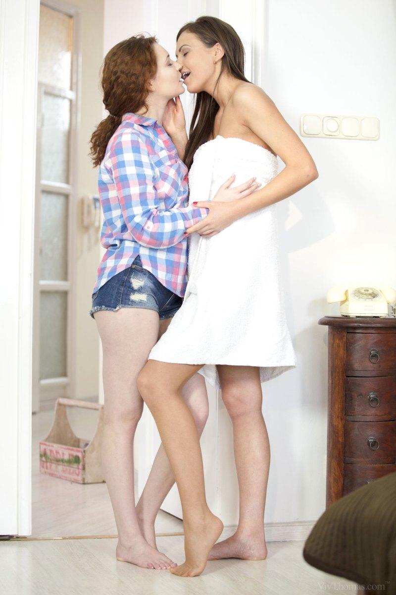 Shelly Bliss and Tina Kay Nude in Await - Free Viv Thomas