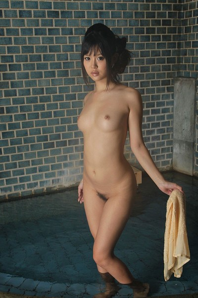 Tsukasa Aoi in Big Beautiful Brown from All Gravure