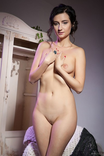 Madeline B in Purple Hues from Erotic Beauty